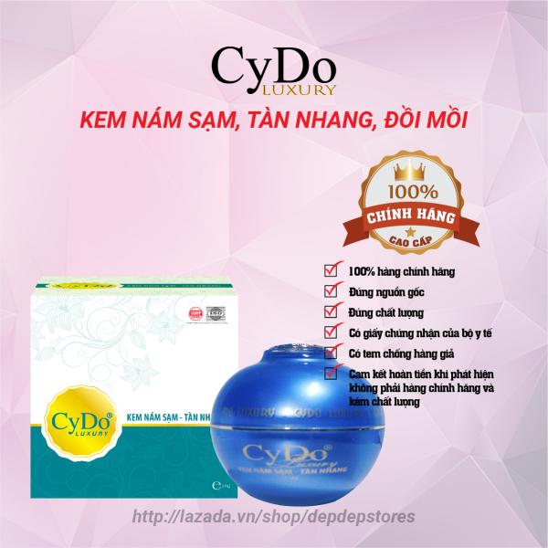Kem nám tàn nhang đồi mồi dưỡng trắng da mặt chống nắng và chống lão hóa - Kem Luxury CyDo 16g - Mỹ Phẩm CyDo