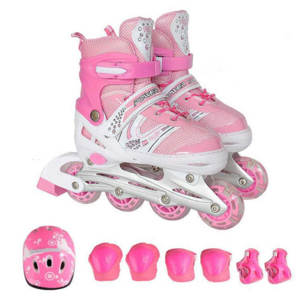 Phân phối Giày trượt patin giá rẻ, Giày Patin trẻ em tặng mũ và đồ bảo hộ (5 đến 14 tuổi), Giúp Bé Vui Chơi Lành Mạnh Và Phát Triển Toàn Diện Sức Khỏe. Bảo hành 12 tháng lỗi 1 đổi 1