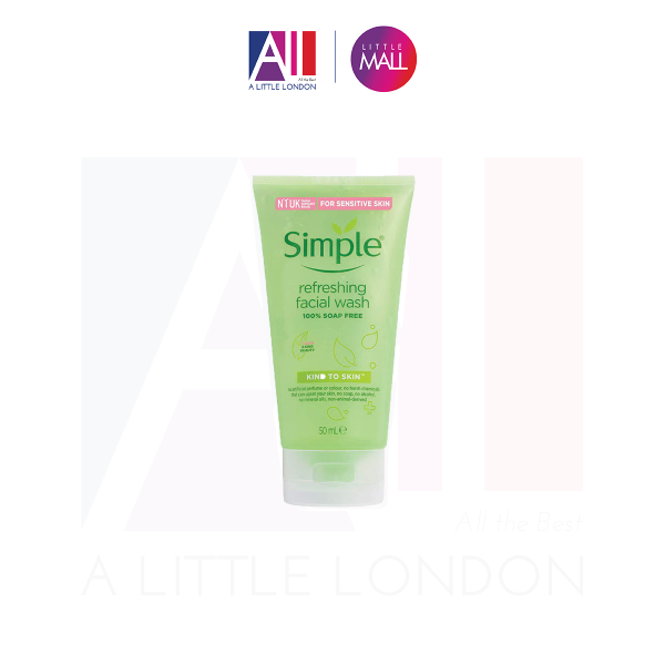 Sữa rửa mặt Simple Refreshing Facial Wash Gel (Bill Anh) cao cấp