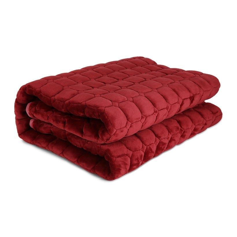 Thảm trải giường lông cừu 2mx2m2
