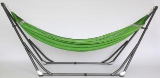 Bộ võng xếp du lịch BAN MAI sắt sơn tĩnh điện và võng lưới thép số 9, gọn nhẹ, 7kg thumbnail