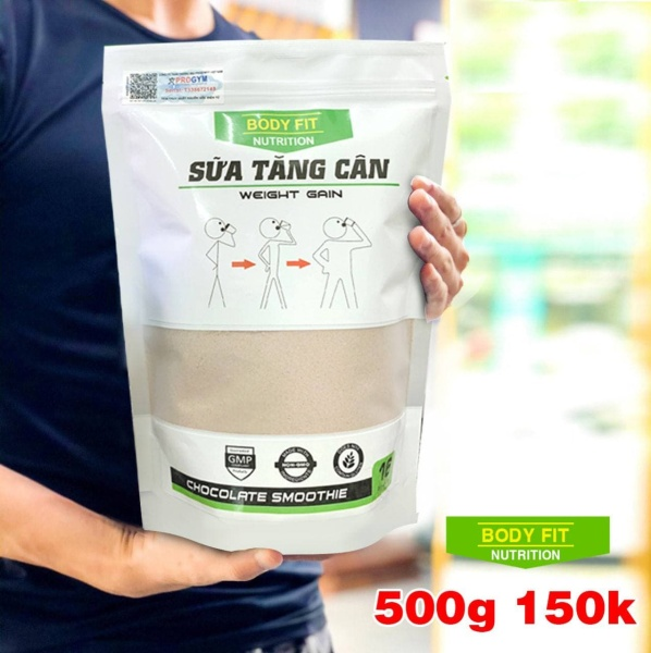 Sữa Tăng Cân BodyFit - Weight Gain 500g cao cấp