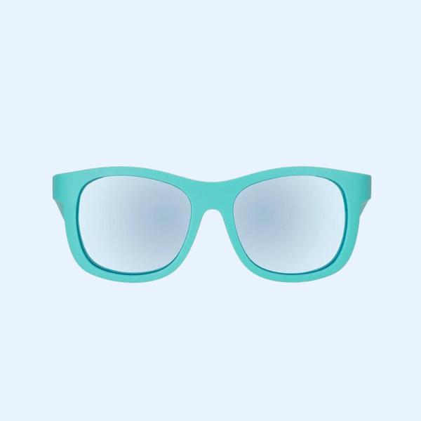 Mua Kính chống tia cực tím có tròng kính phân cực cho bé Babiators – The Surfer, Xanh ngọc, Tráng gương xanh, 3-5 tuổi