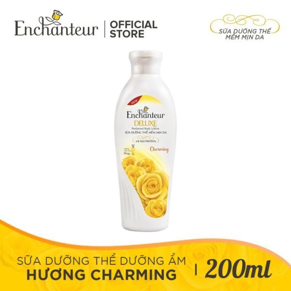 Sữa Dưỡng Thể Enchanteur Charming Dưỡng Ẩm Mềm Mịn - 200G