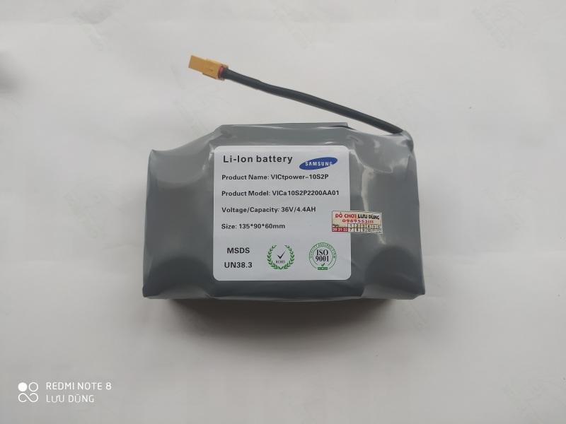 Phân phối pin 36v 4400ma samsung cho các loại xe diff cân bằng