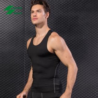 Áo ba lỗ nam tập gym, thể thao ôm body kiểu dáng thời trang cao cấp - A09 thumbnail