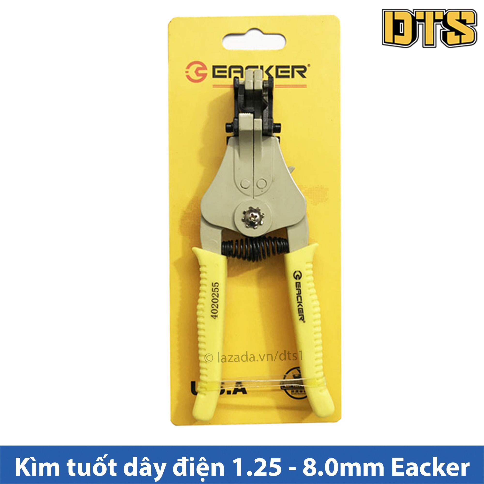 Kìm tuốt dây điện tự bung Eacker 1.25 - 8.0mm