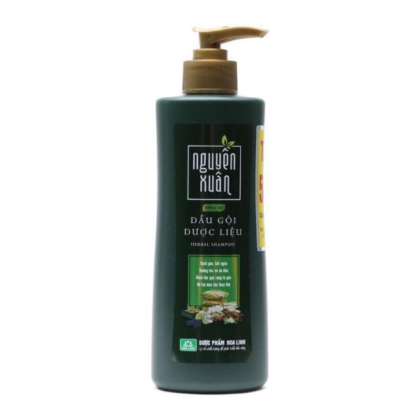 Dầu gội dược liệu dưỡng tóc Nguyên Xuân 250ml (Chai xanh dưỡng tóc, phục hồi hư tổn)