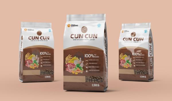 thức ăn hạt cuncun dành cho chó phổ thông