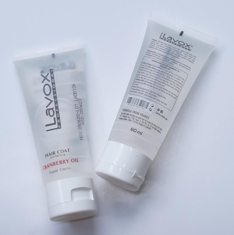 [bảo vệ tóc khô, chẻ ngọn] Dưỡng bóng tóc  giữ nếp tự nhiên mềm mại Lavox Lavox Hair Coat Containing Granberry oil 60ml