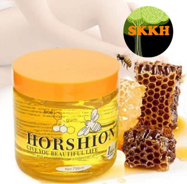 Gel Wax Lông Mât ong Horshion Hàn Quốc 750ml skkh