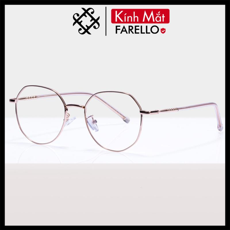Giá bán Gọng kính cận FARELLO chất liệu kim loại phụ kiện thời trang nam nữ 29183 nhiều màu