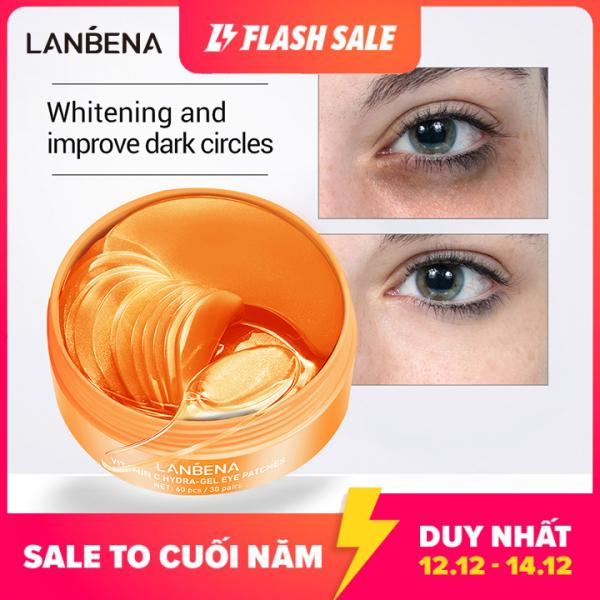 Mặt nạ mắt LANBENA có chứa Collagen Vitamin C, xóa mờ bọng mắt, thâm quầng mắt (60 cái) - INTL