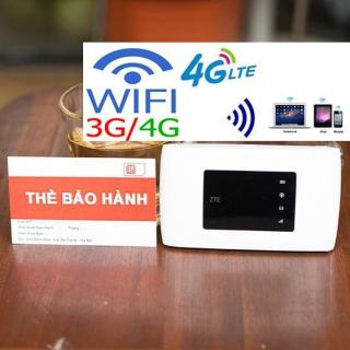 Bộ phát sóng wifi 4G ZTE MF920 thiết kế nhỏ gọn - PIN TRÂU SÓNG KHỎE - TẶNG KÈM SIM 4G DATA KHỦNG thumbnail