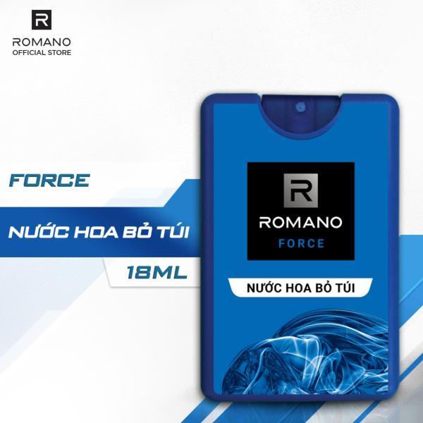 Nước hoa bỏ túi Romano Force tươi mát năng động 18ml giá rẻ