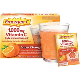 [HCM][ Hộp 90 gói ] Sủi C tăng đề kháng Emergen-C Vitamin C 1000mg thumbnail