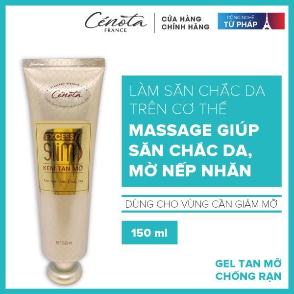 Kem tan mỡ, chống rạn Cenota Excess Slim dạng gel, giảm mỡ bụng nhập khẩu