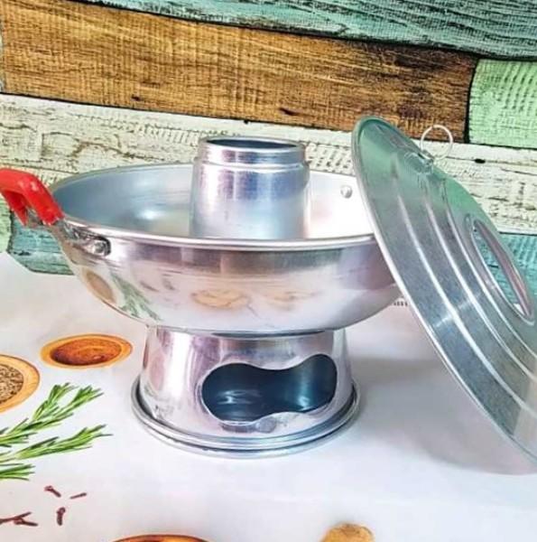 NỒI Lẩu NHÔM CÙ LAO TRUYỀN THỐNG, NỒI LẨU CÙ LAO, Nồi Lẩu NÚI LỬA, LẨU THAN -Chất liệu Nhôm, dụng cụ nấu các món lẩu ĐẶC SẢN MIỀN TÂY đậm chất hương vị XƯA