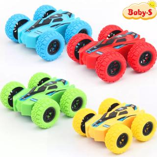 Xe địa hình đồ chơi cho trẻ em trượt lật theo quán tính có thể chạy cả 2 mặt siêu hot bằng nhựa nguyên sinh ABS an toàn cho bé yêu Baby-S SDC029 thumbnail