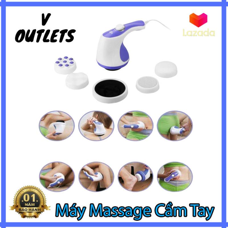 Đánh Tan Mỡ Bụng, Máy Massage Cầm Tay - Dòng Máy Mát Xa Được Ưa Chuộng Nhất, Máy Massage Toàn Thân Giá Rẻ, Máy Massage Cầm Tay Relax & Spin Tone Chất Lượng Cao, Siêu Tiện Lợi, Giá Tốt