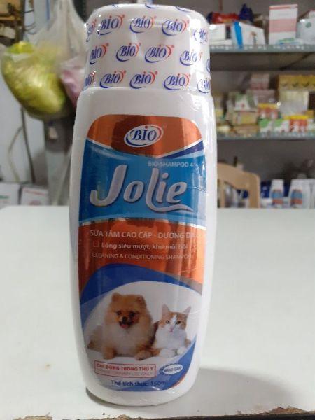 Sữa Tắm Chó Mèo Bio-Jolie - Dưỡng Lông Khử Mùi Hôi - Ngừa Nấm và Ghẻ
