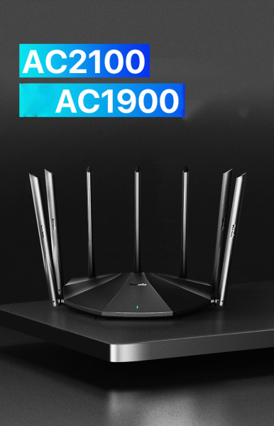 Bảng giá Bộ phát wifi 2 băng tần Tenda AC23 AC2100M Tenda AC7 AC1200 Bản Tiếng Anh 1200cổng Gigabit Phong Vũ