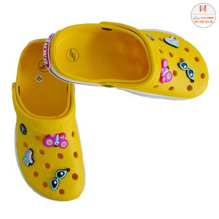 Dép nữ dép cross nữ cao cấp siêu bền đẹp giảm giá sốc Neli DNU911 tặng 6 sticker jibbitz - giày nữ - giày quai hậu nữ đi học - dép nữ đẹp rẻ thumbnail