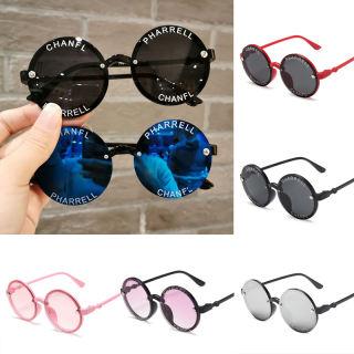 Kính mát hình tròn kính chống nắng cho trẻ em nhiều màu sắc thiết kế xinh xắn phù hợp đi chơi dạo phố cho bé trai và bé gái 0-12 tuổi - intl