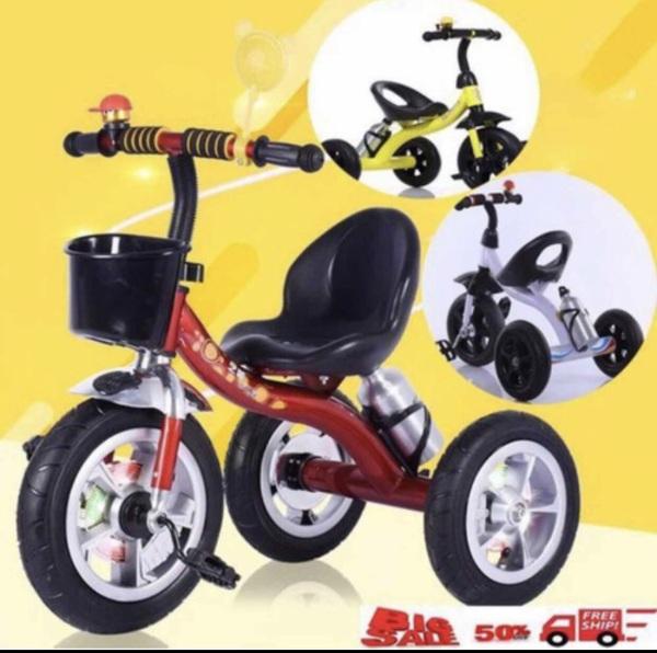 Giá bán Xe đạp 3 bánh có bình nước, giỏ, chuông