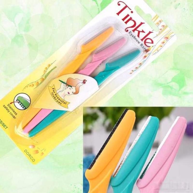 Bộ 3 dao cạo chân mày Tinkle , siêu tiện lợi