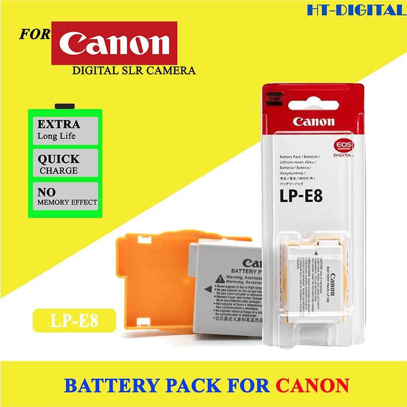 Voucher Giảm Giá Pin Máy ảnh Canon LP-E8 For Canon 550D 600D 650D 700D (Hàng Nhập Khẩu)