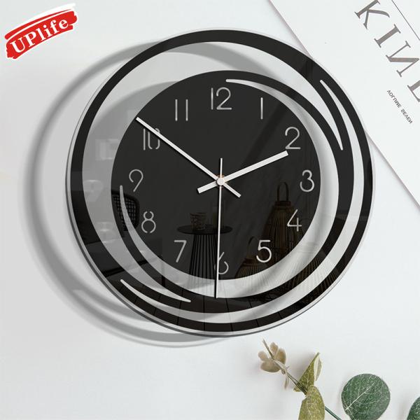 Đồng hồ treo tường trang trí phòng khách độc đáo chất liệu Acrylic; Đồng hồ trong suốt phong cách tối giản Bắc Âu bán chạy