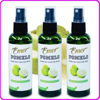 Bộ 3 chai Tinh dầu bưởi xịt mọc tóc Pomelo Emer (100ml x 3) giảm rụng tóc, kích mọc tóc nhanh, cho tóc dày và dài hơn, bảo vệ tóc khỏi các tác nhân gây hại