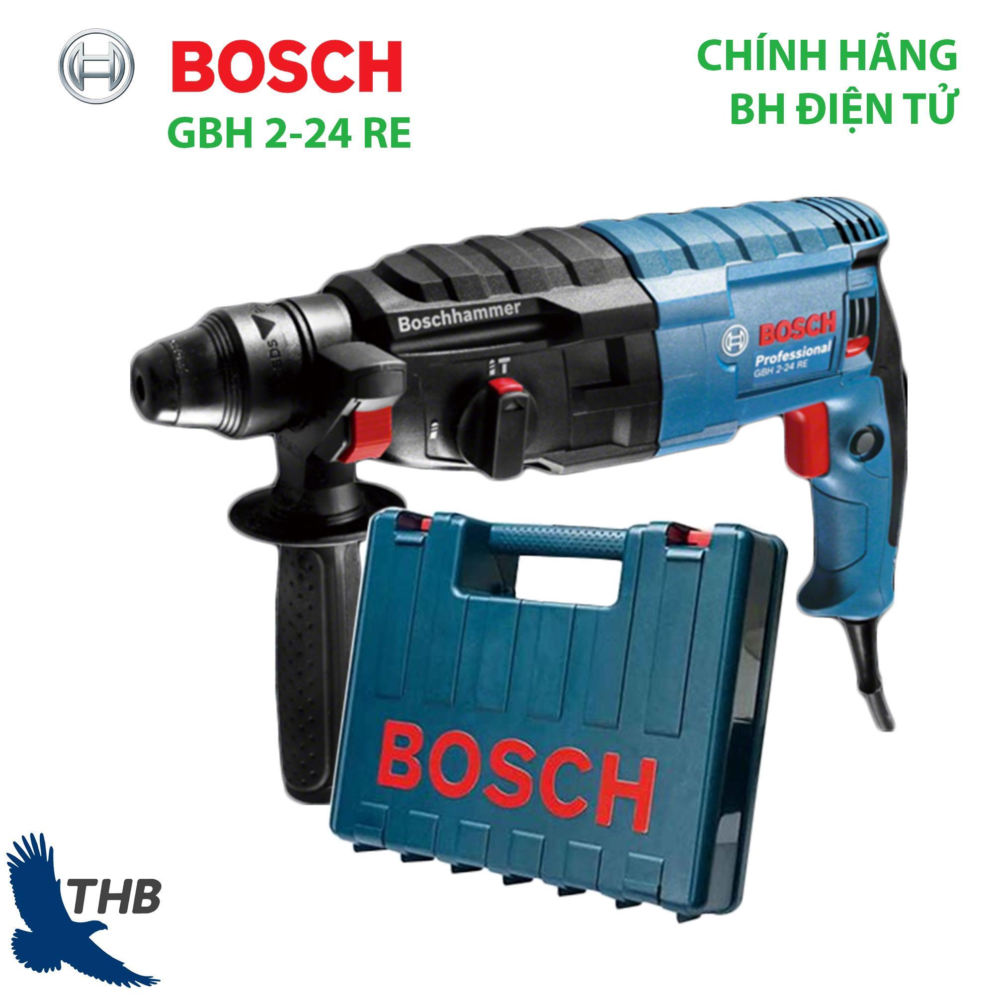 Máy khoan búa Máy khoan bê tông Bosch GBH 2-24 RE Công suất 790W Bảo hành 12 tháng