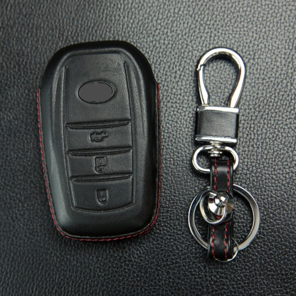 Bao da chìa khóa 4D, ốp da chìa khóa, ốp carbon chìa khóa xe Toyota Camry, Innova, Fortuner