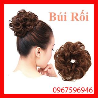 Búi tóc giả đẹp thời trang chất liệu dầy đẹp - Búi rối thumbnail