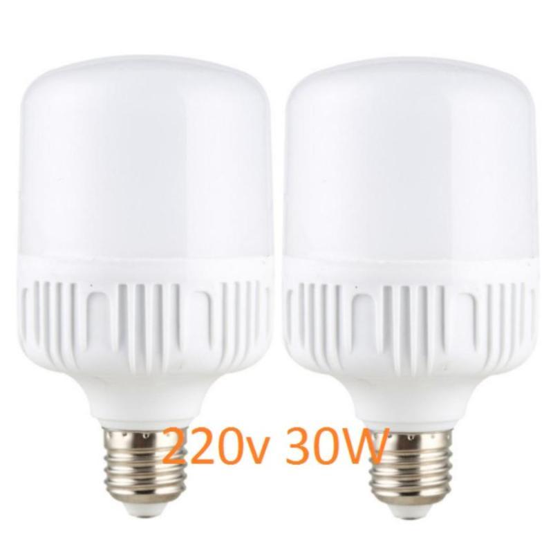 Bộ 2 bóng đèn led trụ 30W tiết kiệm điện (Trắng)