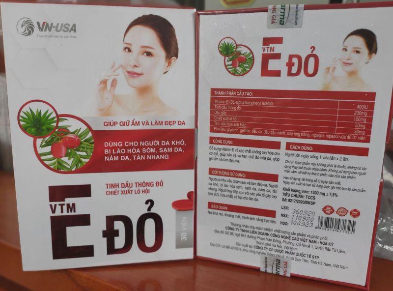 Vitamin E Đỏ nhập khẩu