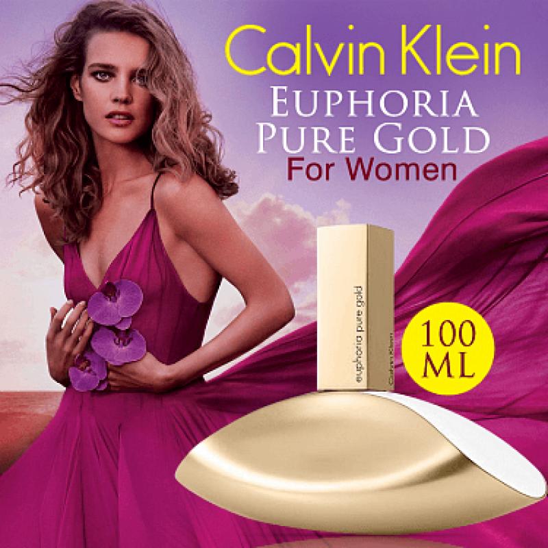 Nước hoa Nữ Calvin Klein Euphoria Pure Gold - CK 100ml EDP ( hàng auth ) mua tại Mỹ.