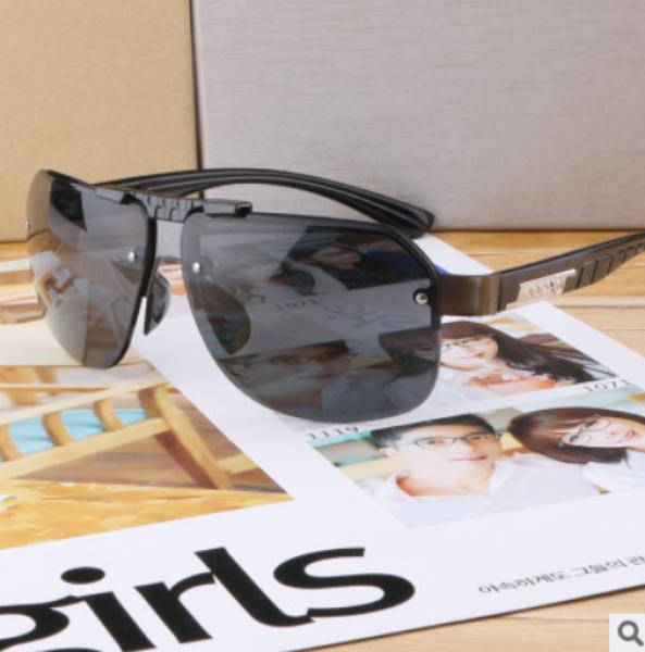Giá bán Kính mắt nam nữa gọng bằng kim loại chống tia UV