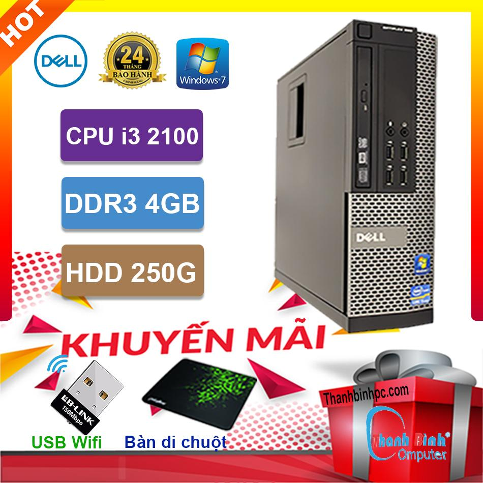 Lazada Ưu Đãi Khi Mua Máy Tính Đồng Bộ Dell I3 2100 - RAM 4G - HDD 250G - Hàng Nhập Khẩu Bảo Hành 24 Tháng