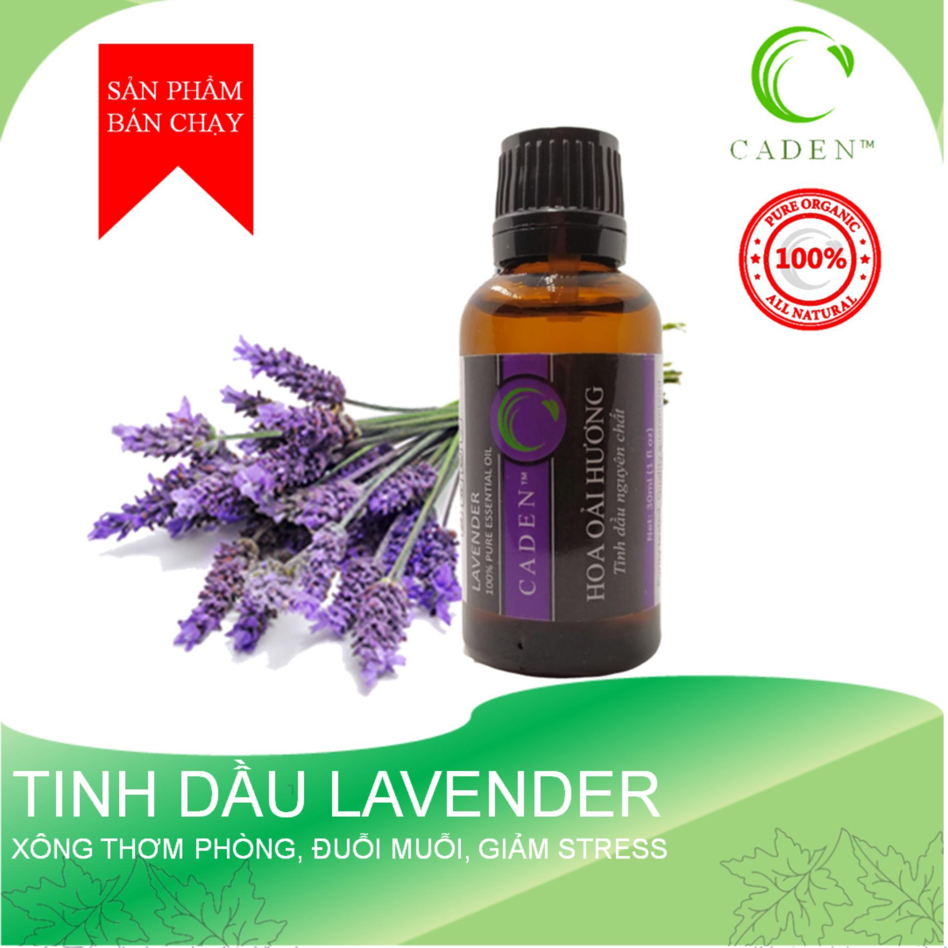 Tinh Dầu Lavender Hoa Oải Hương 30ml Tinh Dầu Xông Phòng Đuổi Muỗi Đang Ưu Đãi Cực Đã