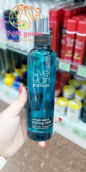 Keo xịt tóc Livegain Premium Styling Mist (Cứng)