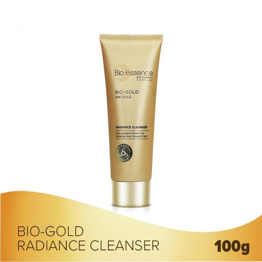 Sữa Rửa Mặt Ngăn Ngừa Dấu Hiệu Lão Hóa Chiết Xuất Vàng Sinh Học 24K Bio-Gold Bio-Essence (100g)