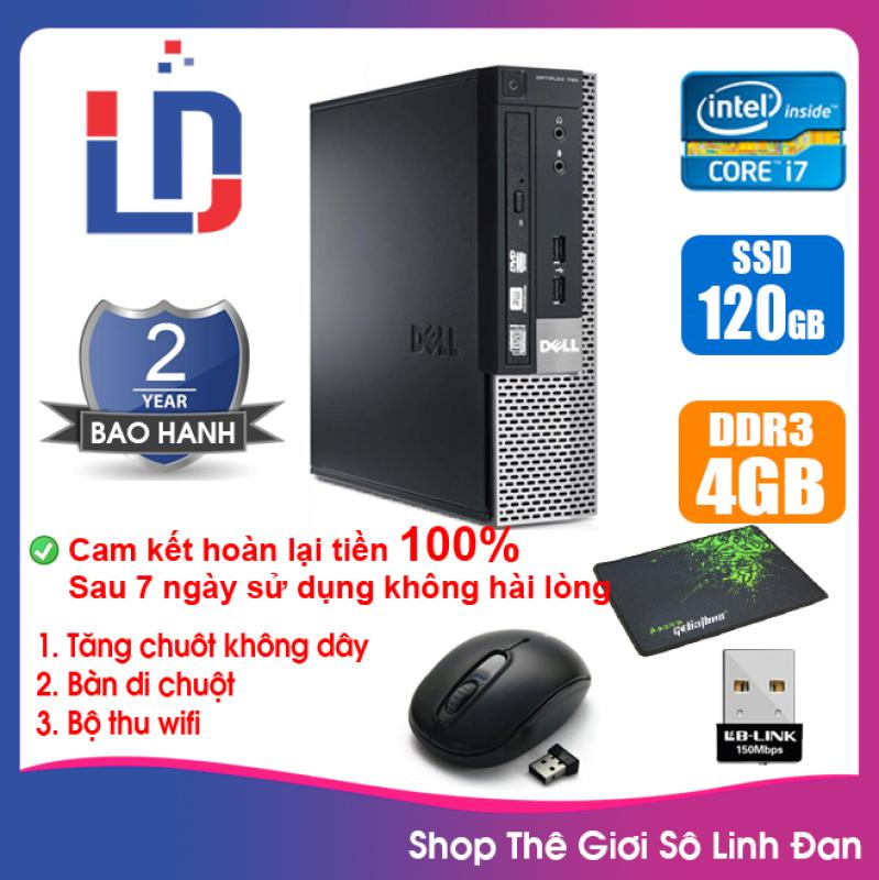 Bảng giá Case máy tính để bàn đồng bộ DEL CPU G620 / RAM 4GB / SSD 120GB Phong Vũ
