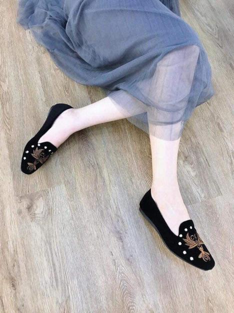 Giày nữ thêu CL - GL01 Kèm video giá rẻ