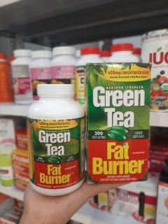 Viên Uống Giảm cân Trà Xanh Green Tea Fat Burner 400mg của Mỹ thumbnail