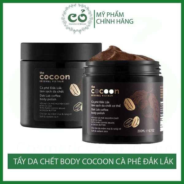 Tẩy da chết cơ thể Cocoon Cà phê Đắk Lắk cam kết sản phẩm đúng mô tả chất lượng đảm bảo an toàn cho người sử dụng