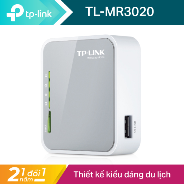 Bảng giá TP-Link Cục phát wifi di động 3G/4G Chuẩn N 150Mbps TL-MR3020 nhỏ gọn - Hãng phân phối chính thức Phong Vũ