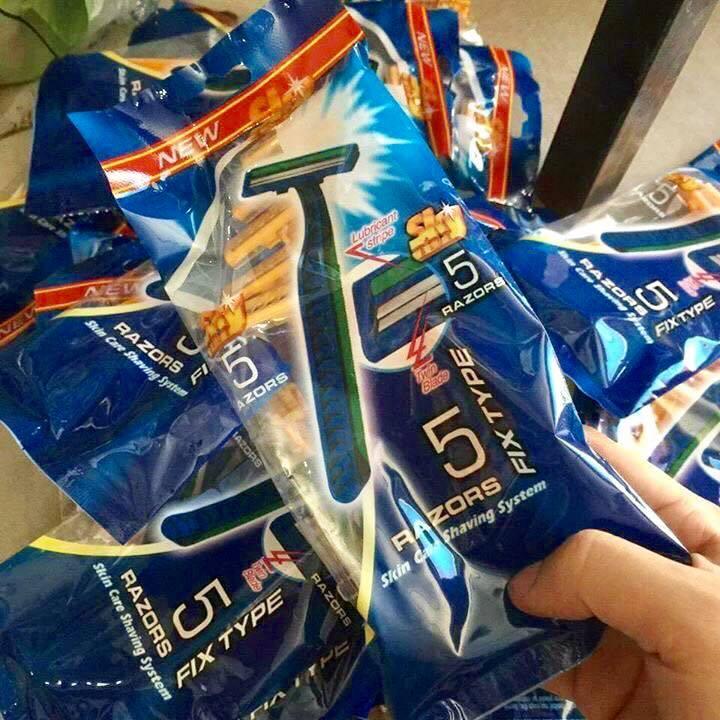 Set 10 cái dao cạo râu Zazors (5 cái/ Bịch)